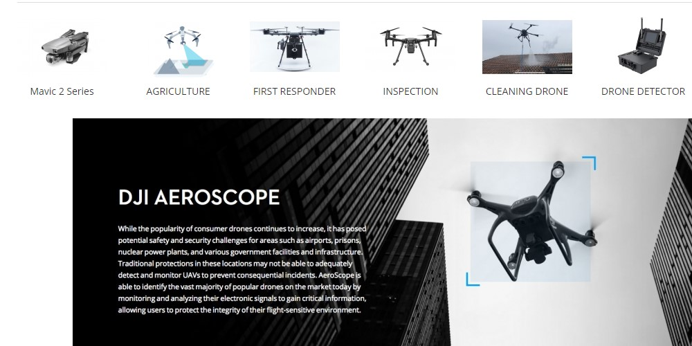 scorpion drones home page