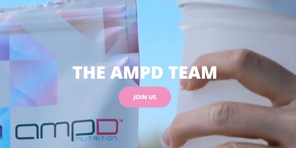 AMPD affiliate sign up page