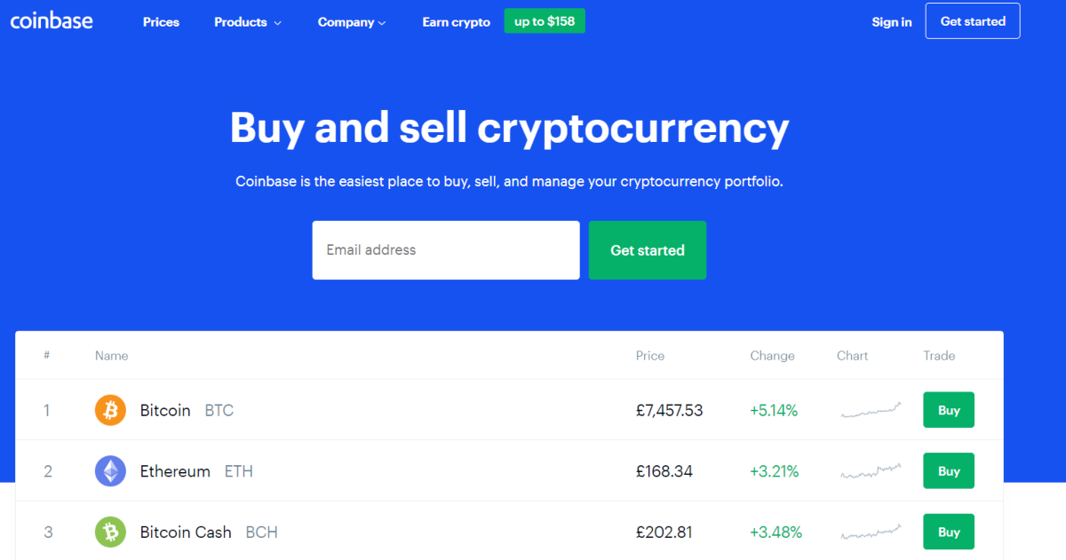 This is a screenshot taken from the Coinhouse.com website that markets itself as the easiest crypto exchange to built your crypto portfolio