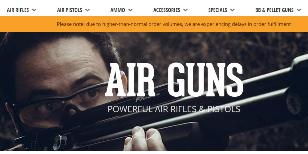 airgun depot home page
