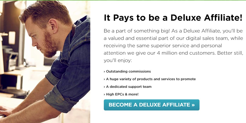 deluxe affiliate page
