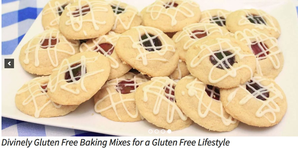 divinely gluten free home page