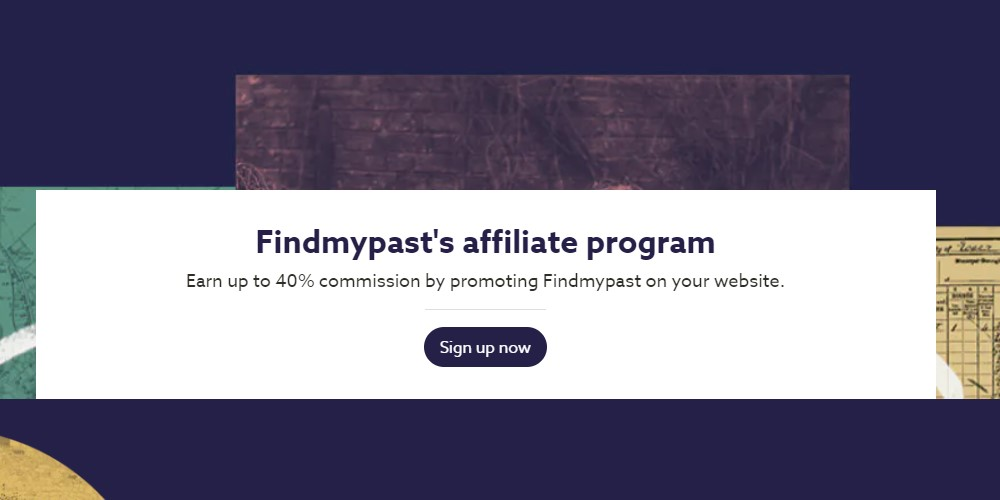 find my past affiliate sign up page