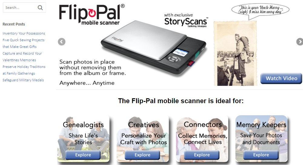 flip pal home page