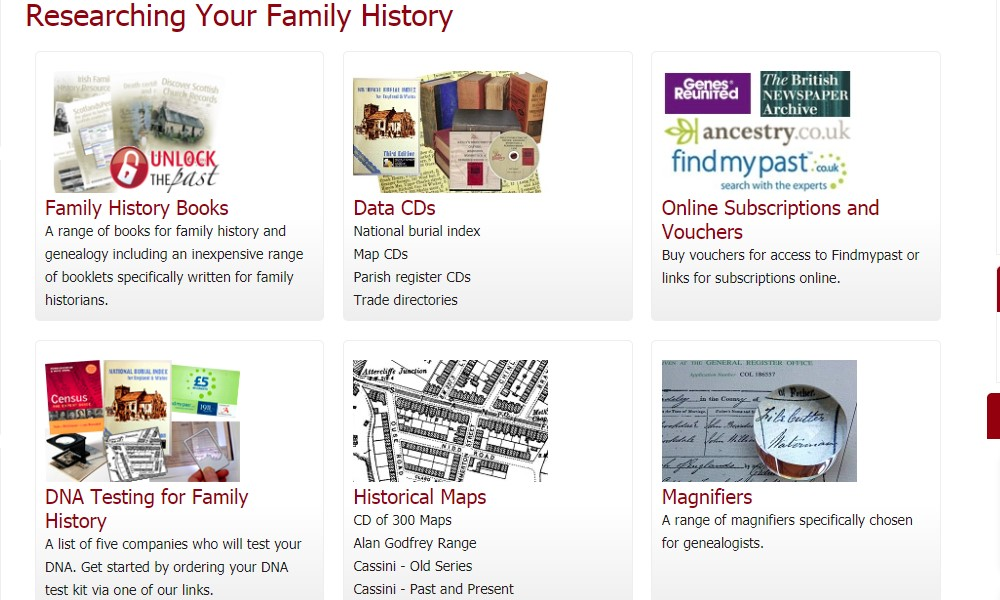 my history home page