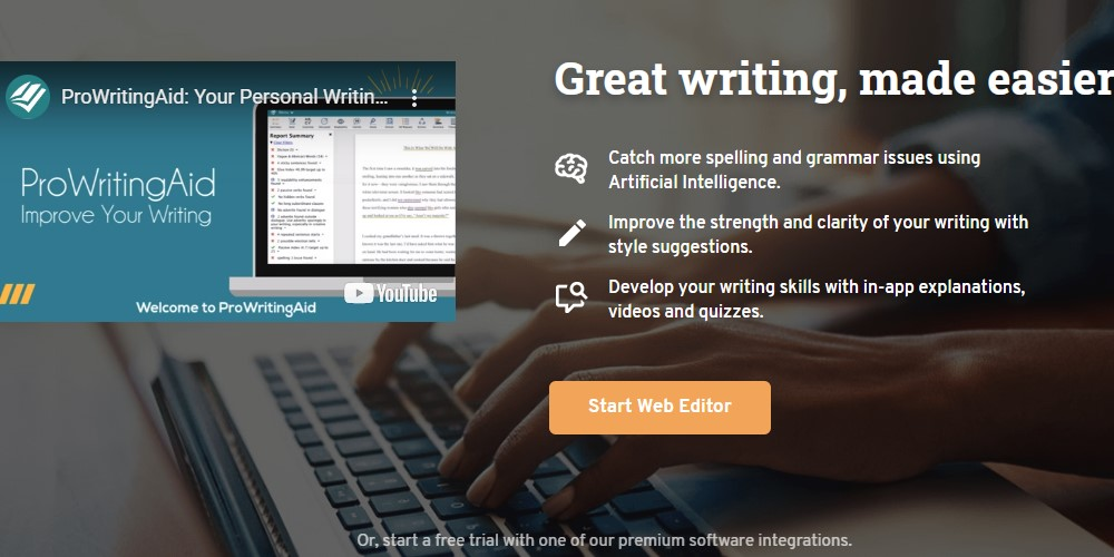 prowritingaid home page