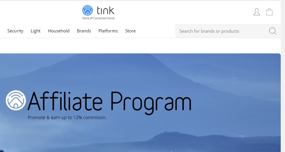tink.us affiliate sign up page