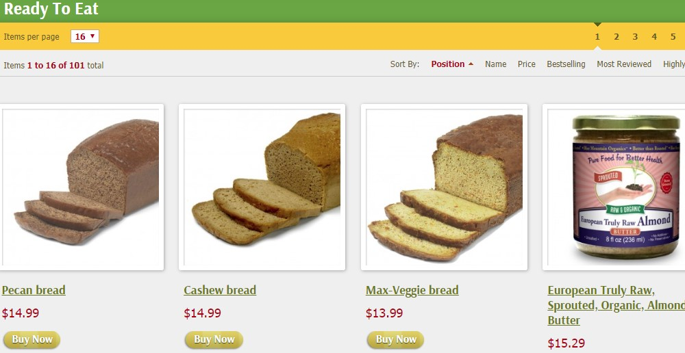 well bees ready to eat category page
