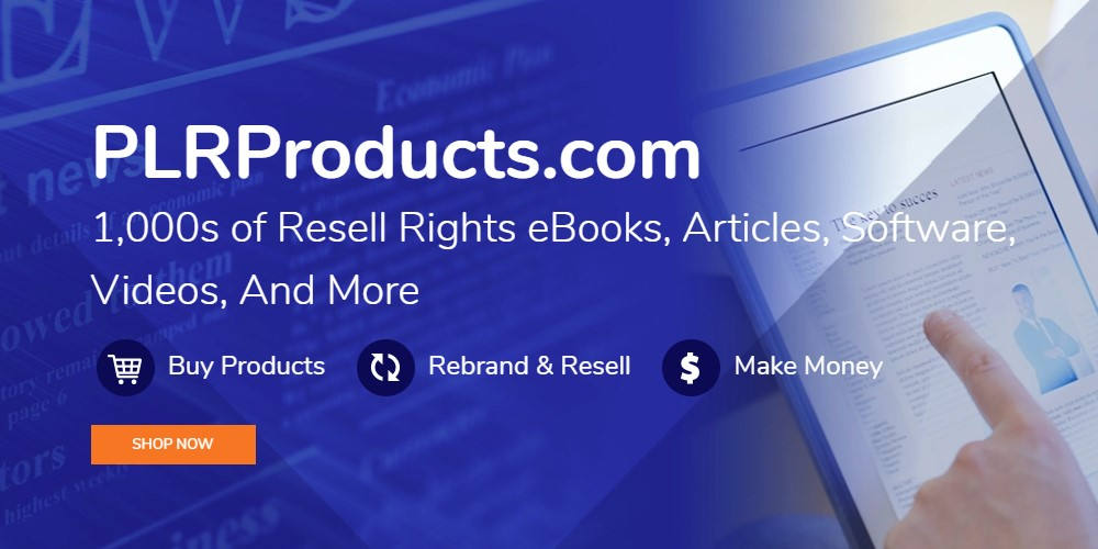 plr products home page