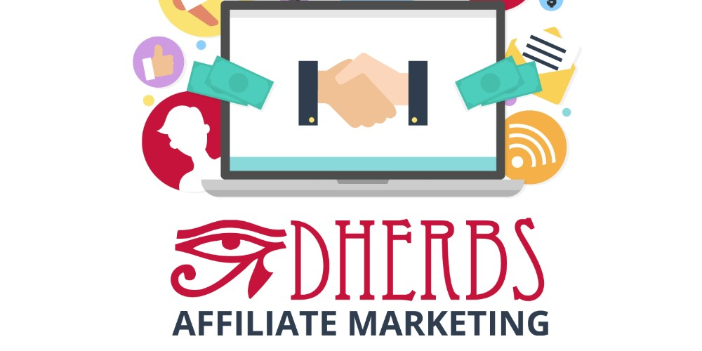 dherbs affiliate sign up page