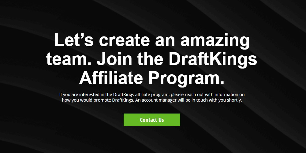 Draft Kings affiliate page
