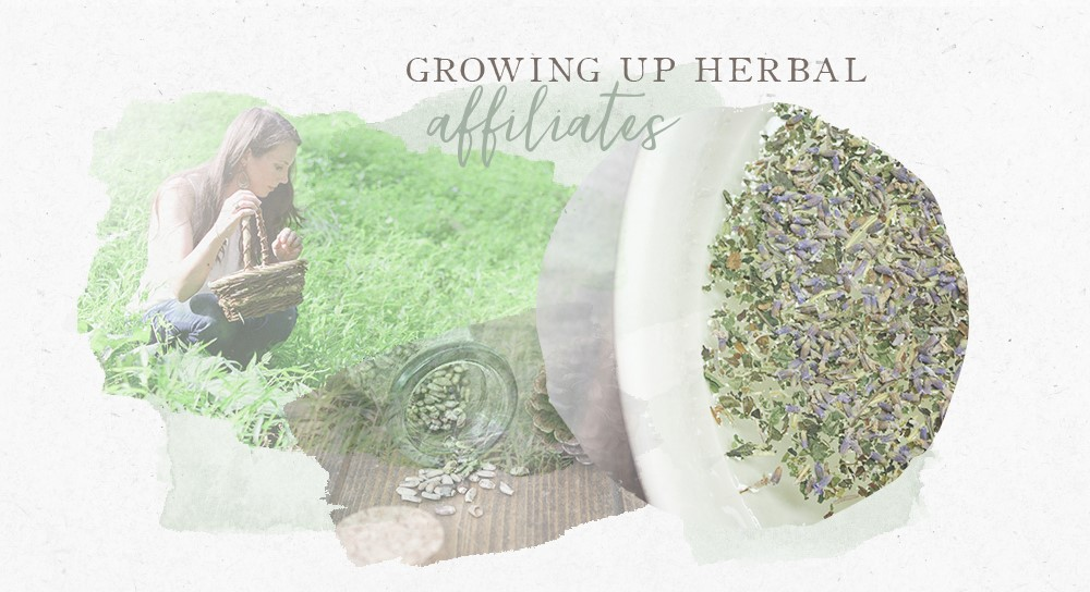 growing up herbal affiliate sign up page