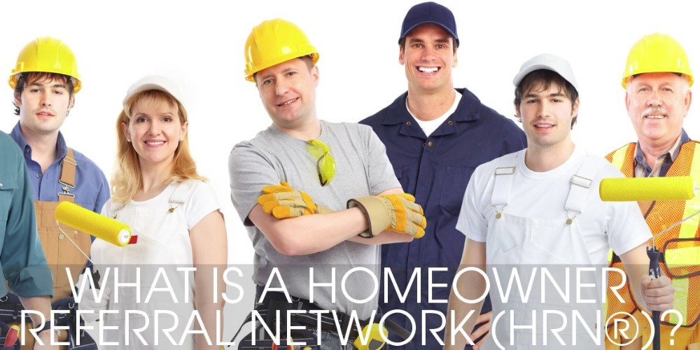 homeowner referral network home page
