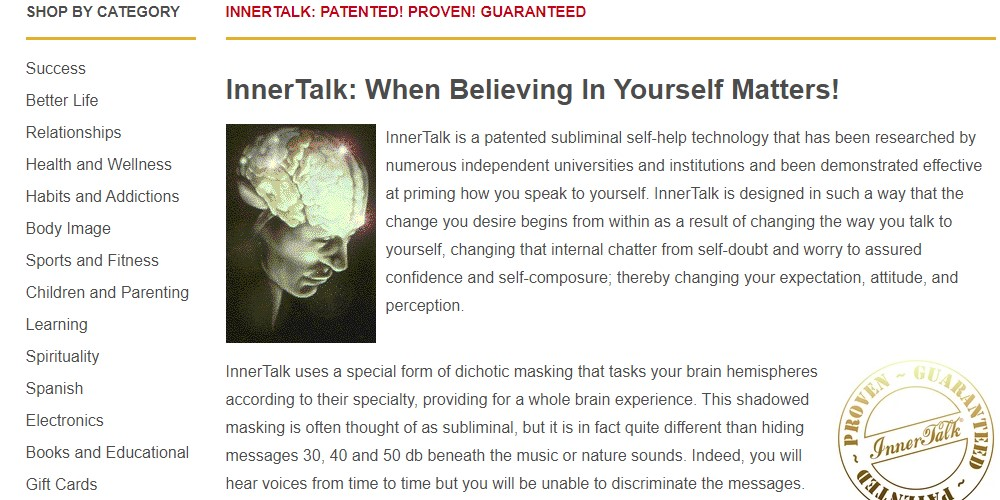 inner talk home page