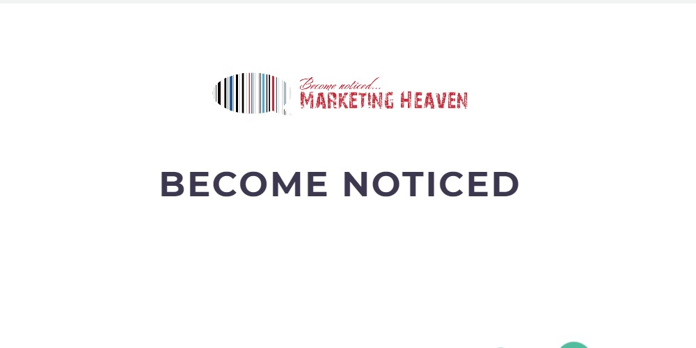 marketing heaven home page