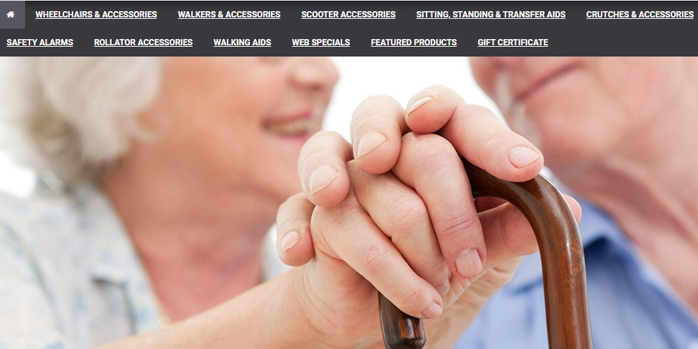 mobility aids home page