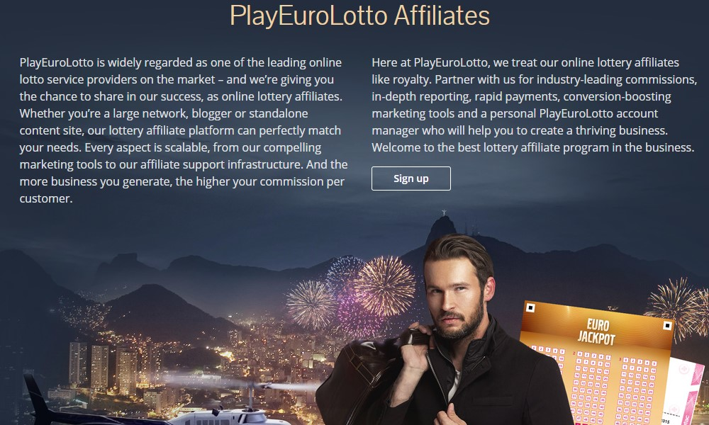 play euro lotto affiliate sign up page