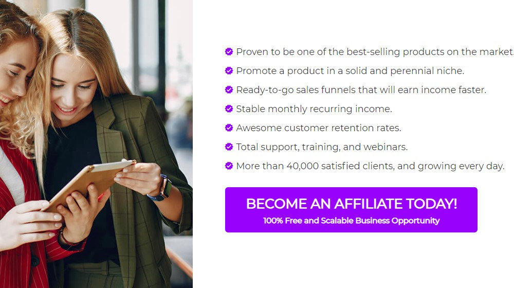 builderall affiliate sign up page