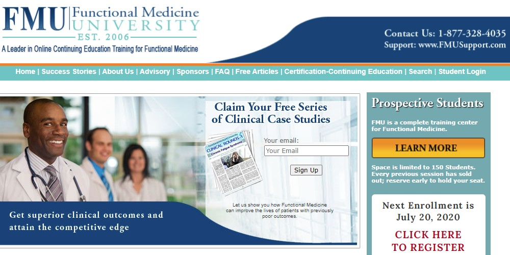 functional medicine university home page