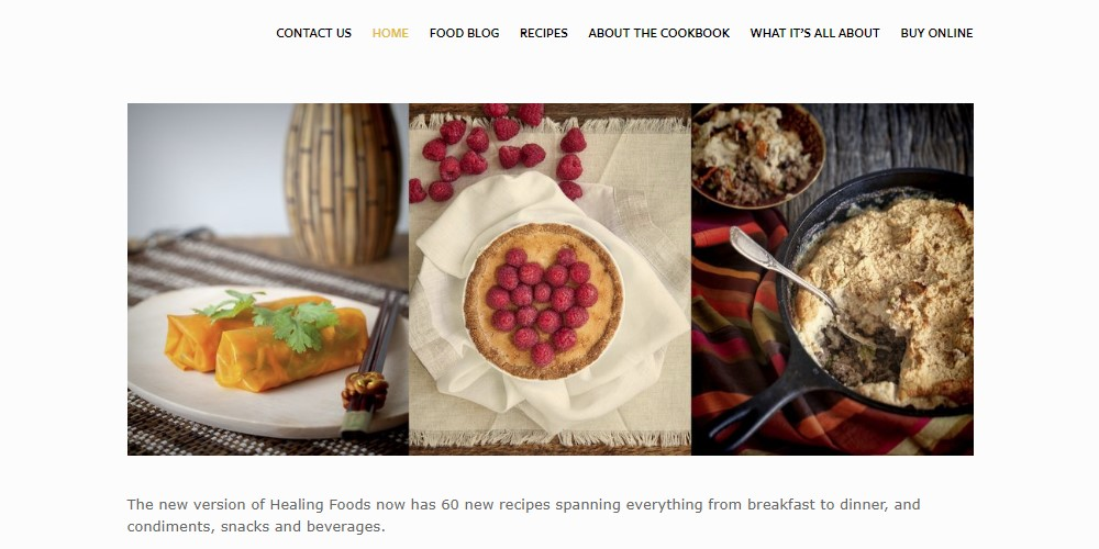 healing foods home page