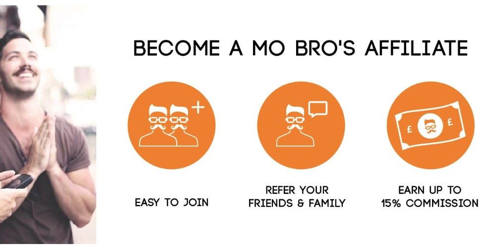 mo bros affiliate sign up page