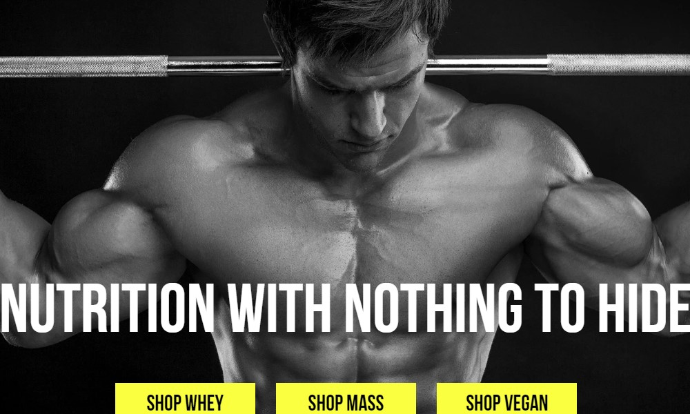 naked nutrition home page