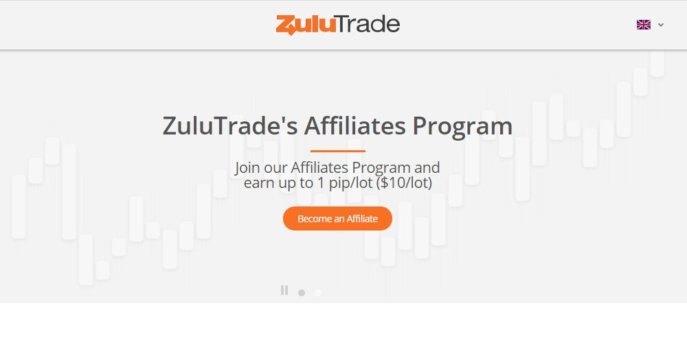 zulu trade affiliate sign up page