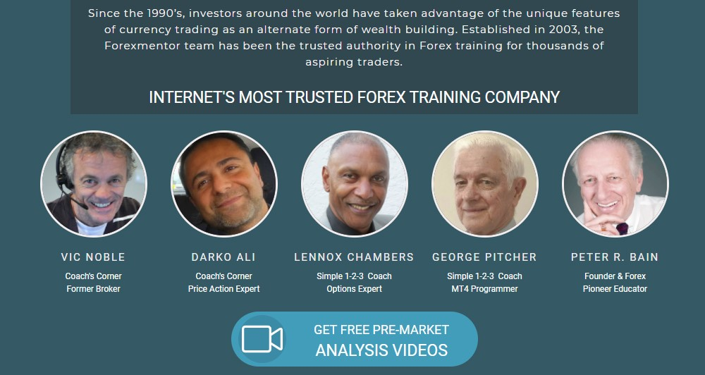 forex mentor home page