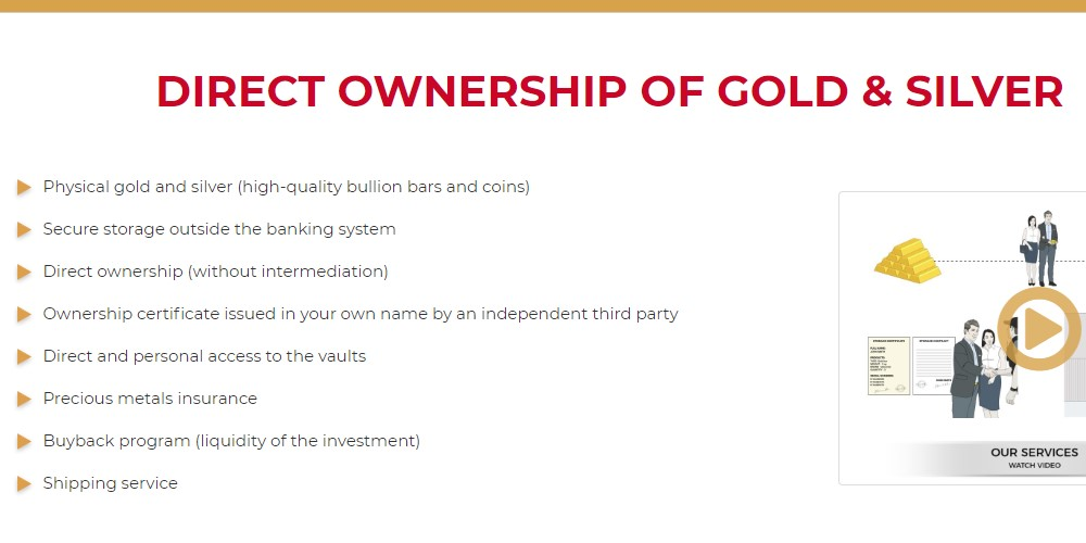 gold broker home page