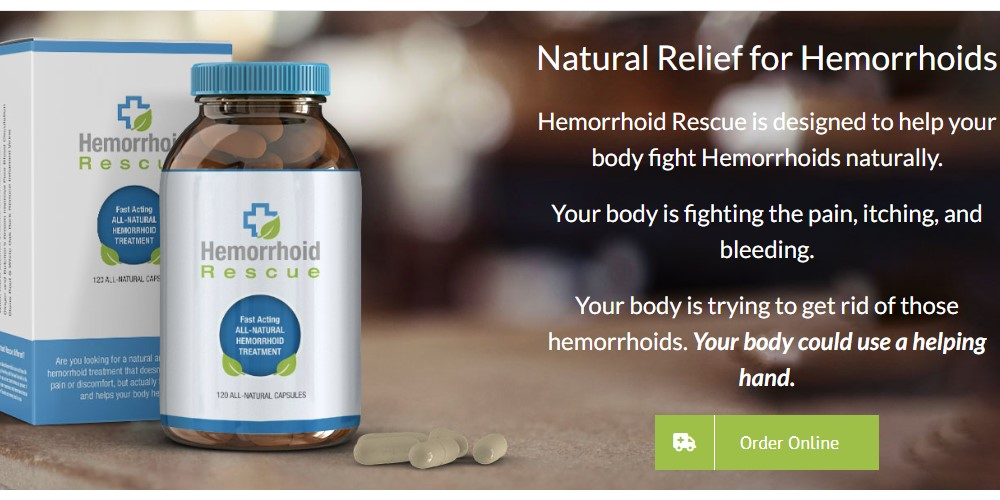hemorrhoid rescue home page