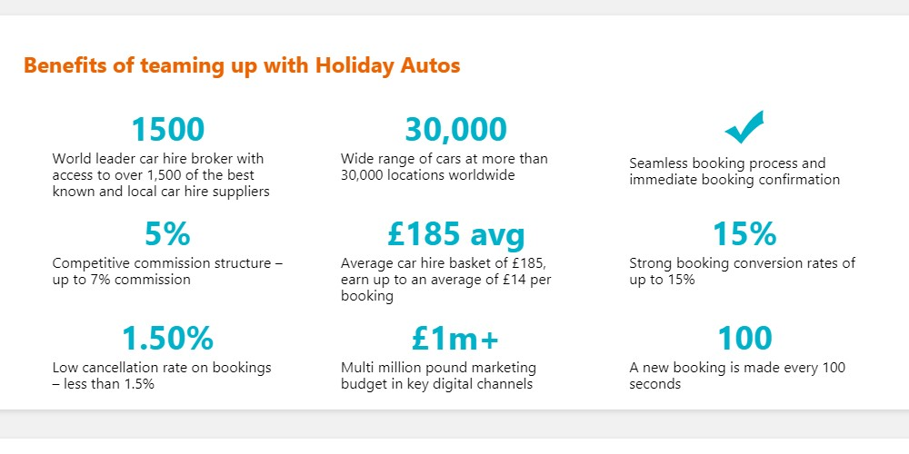 holiday autos affiliate sign up page