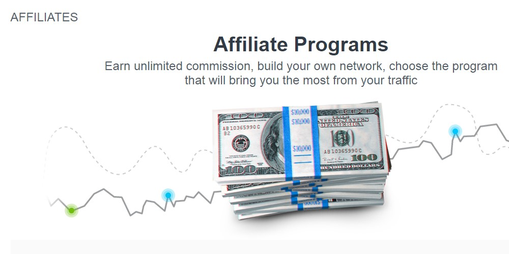 just forex affiliate sign up page