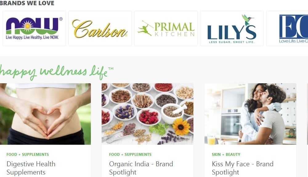 lucky vitamin home page