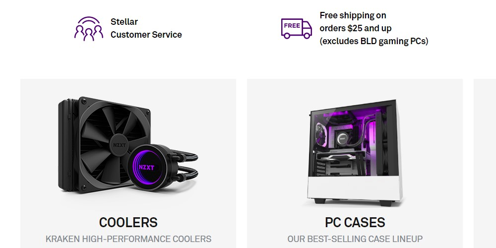nzxt home page