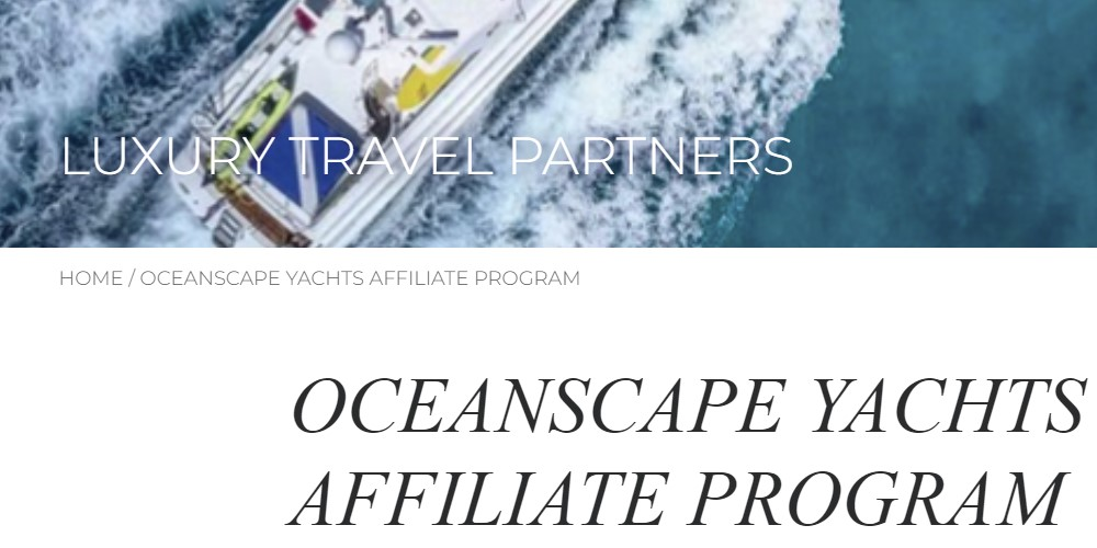 oceanscape yachts home page
