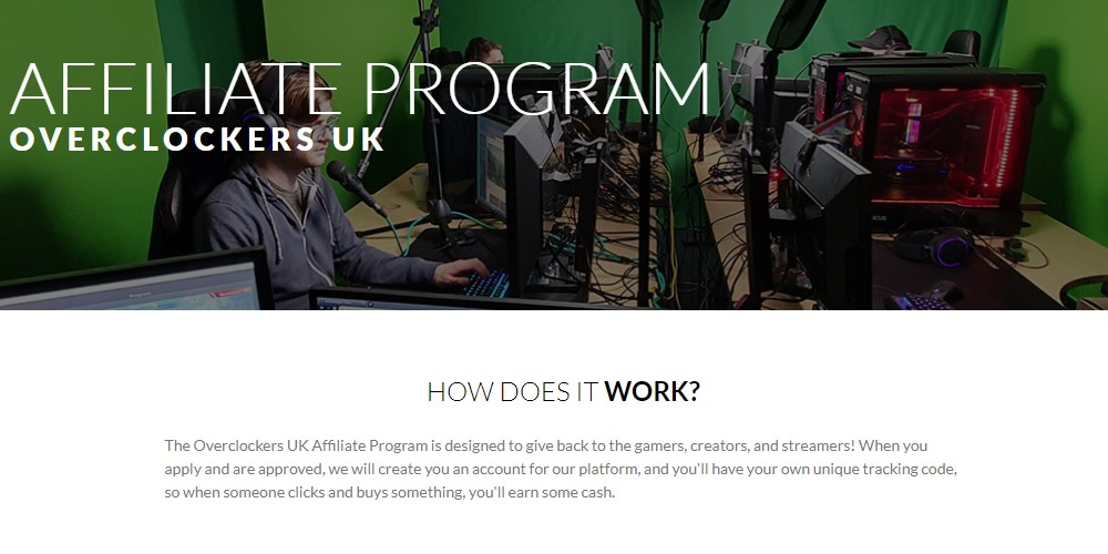 overclockers affiliate sign up page
