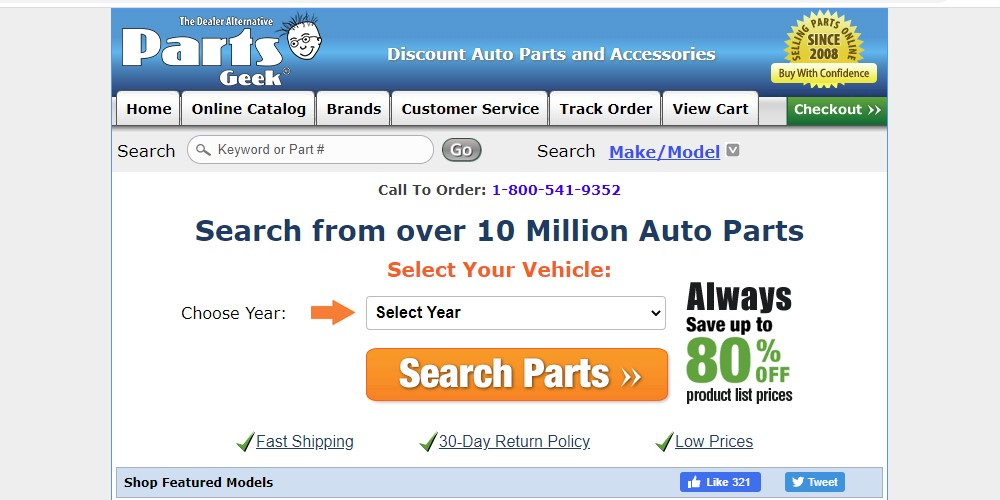 parts geek home page