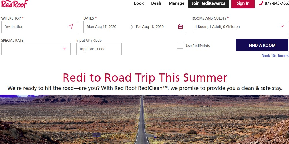 red roof home page