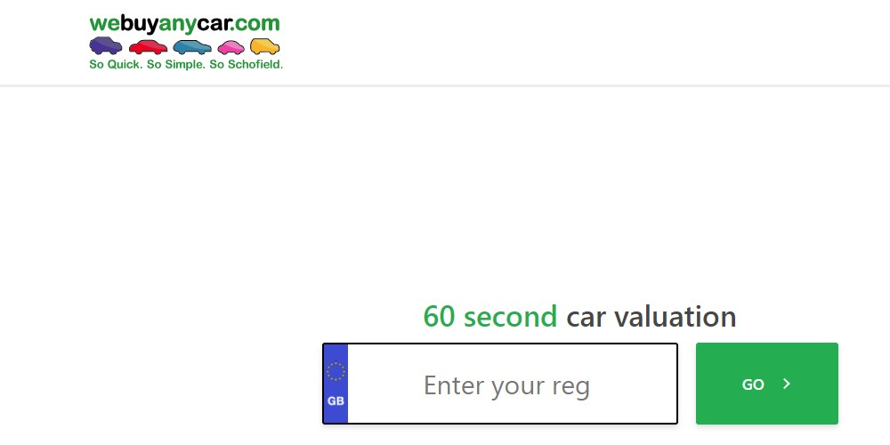 we buy any car home page